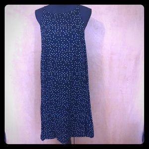 Roxy black polka dot dress